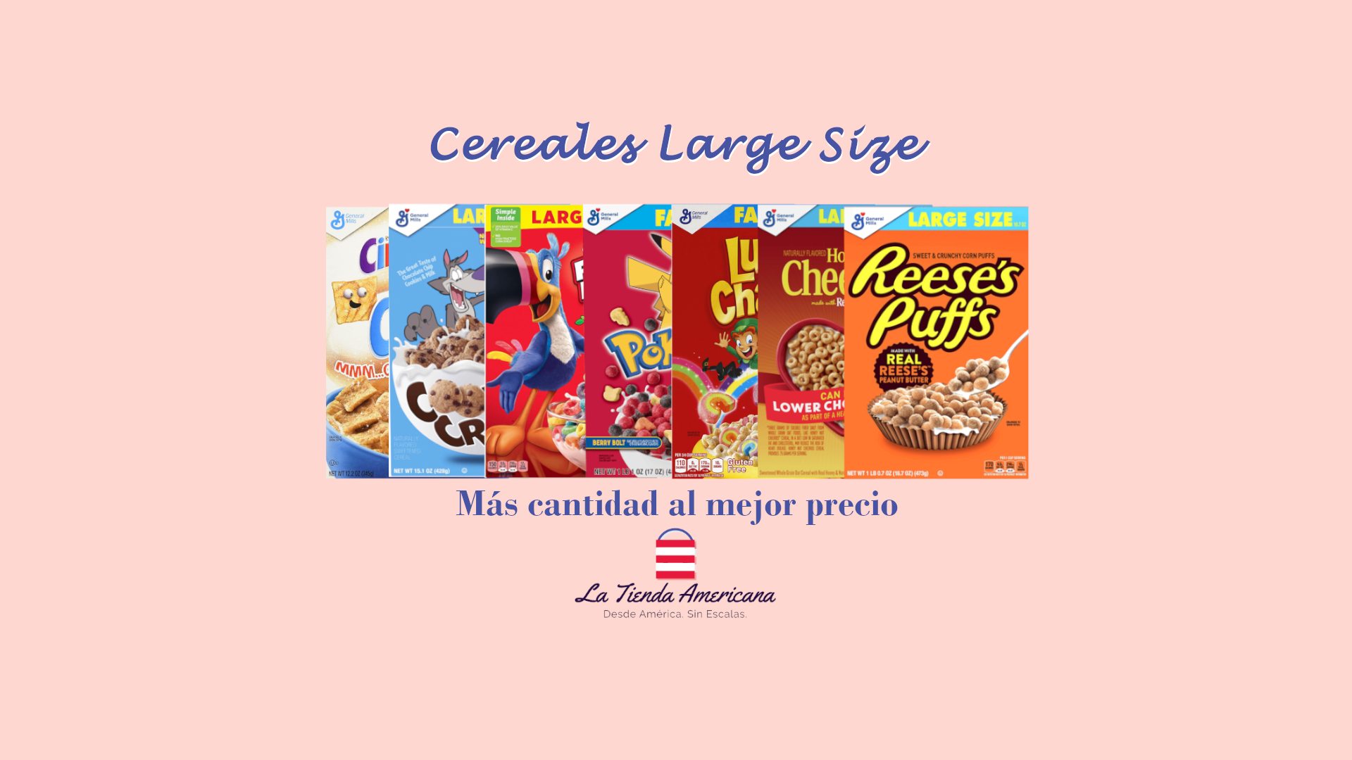 Cereales Americanos Large Size