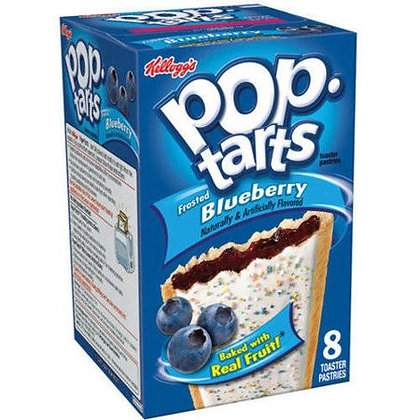 Pop Tarts Frosted Blueberry 384g
