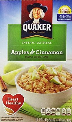 Quaker Instant Apple & Cinnamon Oat 425g