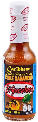 El Yucateco Salsa Habanero Caribbean 120ml