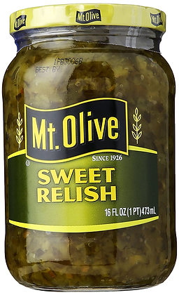 Mt Olive Sweet Relish 473ml