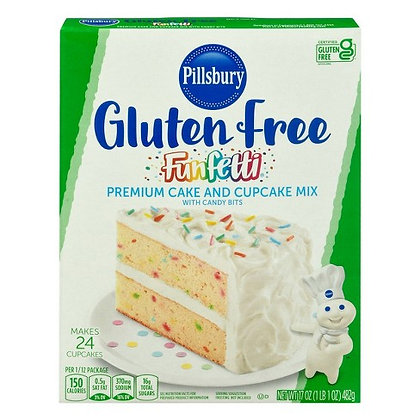 Pillsbury Funfetti Gluten Free Mix 482g