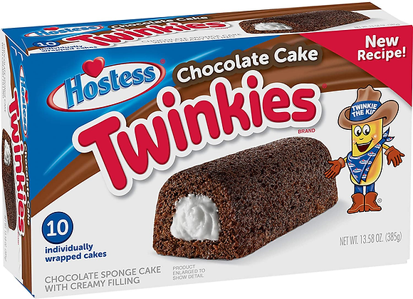 Hostess Twinkies Chocolate Cake (10uds) 385g