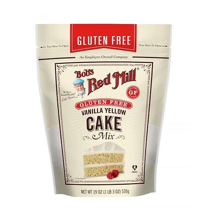 Bobs Red Mill Gluten Free Vanilla Yellow Cake Mix 539g