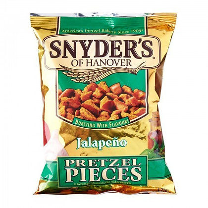 Snyder's Jalapeño Pieces 125g
