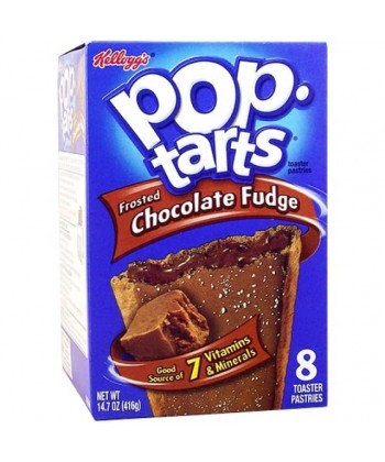 Kellogg's Pop Tarts Chocolate Fudge 384g