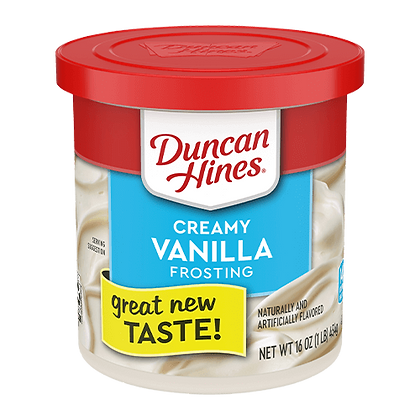 Duncan Hines Frosting Vanilla 454g