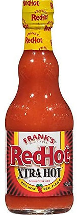 Frank's Xtra Hot Red Hot Cayenne Pepper Sauce 148ml