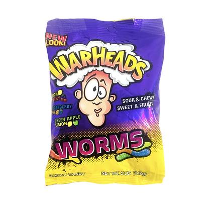 Warheads Worms 142g
