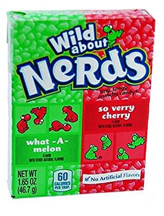 Wonka Nerds Cherry Watermelon 46,7g
