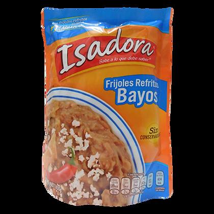 Frijol Bayo Refrito 430g Isadora