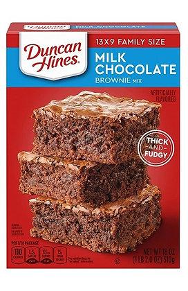 Duncan Hines Milk Chocolate Brownie Mix 510g