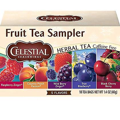 CS Fruit Tea Sampler 18 bags 40g
