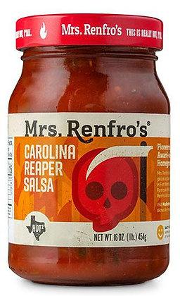 Mrs Renfros Carolina Reaper Salsa 454g