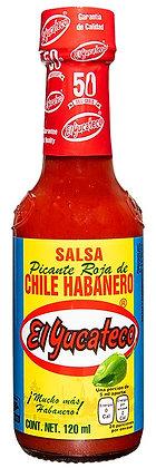 El Yucateco Salsa Habanero Roja 120ml
