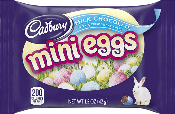 Cadbury Milk Chocolate Mini Eggs 42g