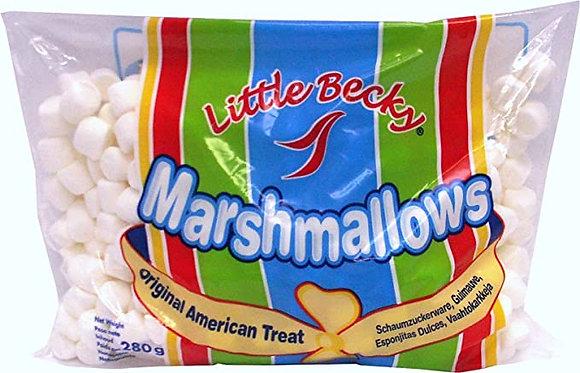 Little Becky Mini Marshmallows Blancos 280g