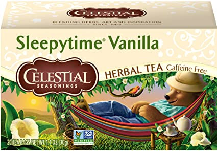 CS Sleepytime Vanilla 20 bags 29g
