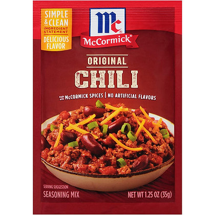 McCormick Original Chili Seasoning 35g