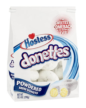 Hostess Donettes Powdered 269g