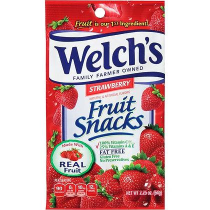 Welch's Strawberry Fruit Snacks 64g