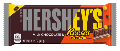 Hershey's Milk Chocolate Reeses Pieces 43g