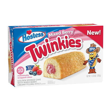 Hostess Twinkies Mixed Berry (10uds) 385g