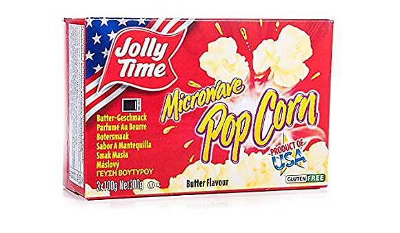 Jolly Time Popcorn Butter Microwave 300g