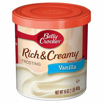 BC Vanilla Frosting Rich & Creamy 453g