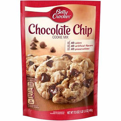 Chocolate Chip Cookie Mix Betty Crocker 496g