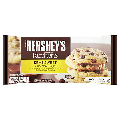 Hershey's Semi-Sweet Chocolate Chips 340g