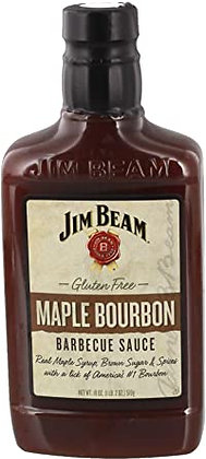 Jim Beam Maple Bourbon BBQ Sauce 510g
