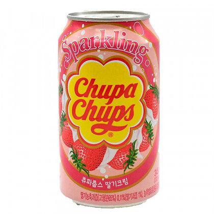 Chupa Chups Strawberry Cream Soda 345ml