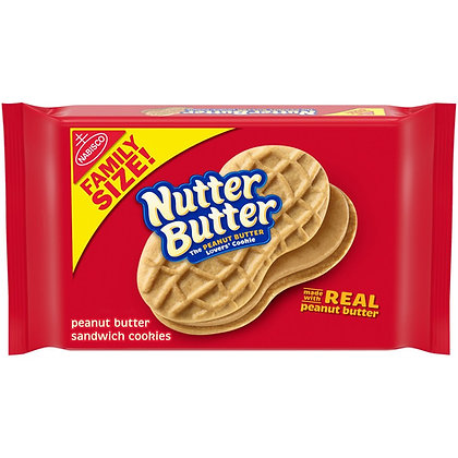 Nutter Butter Family Size 453g