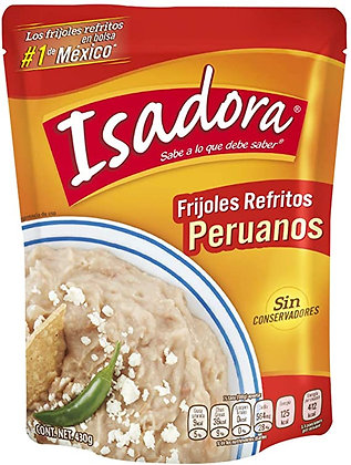 Frijol Peruano Refrito 430g Isadora