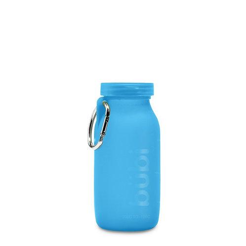 美國 BUBI|戶外折疊防漏隨身矽膠運動水瓶|14OZ
