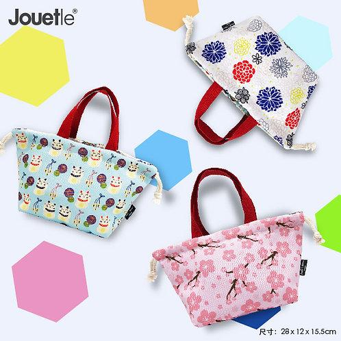 Jouetle|可愛花紋便當袋|束袋|香港設計