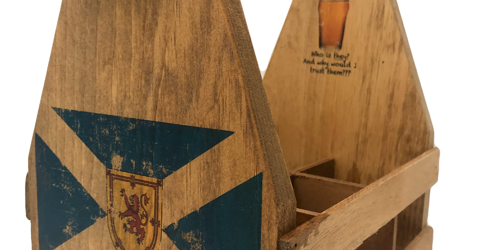 Sottish Flag Beer tote