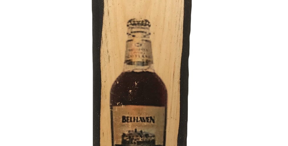 Belhaven Wall Mounted Plaque with Opener and Magnet