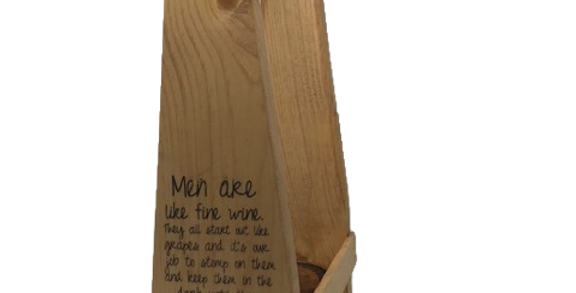 Men are Like Fine Wine....Wine Tote