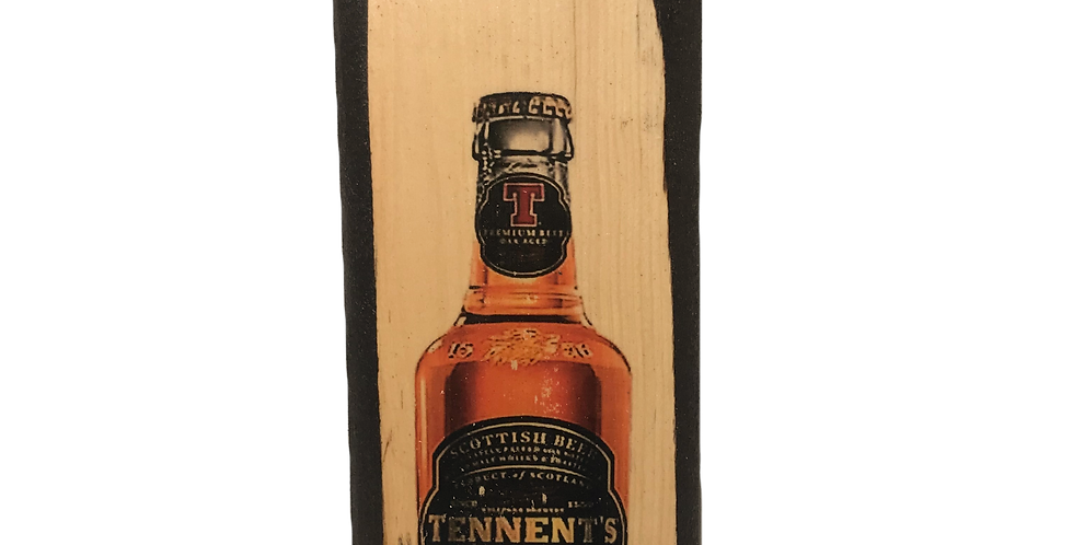 Tennent's Wall Mounted Plaque with Opener and Magnet