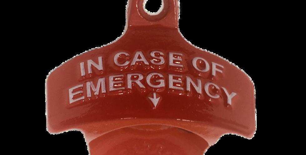 In Case of Emergency STARR X Bottle Opener