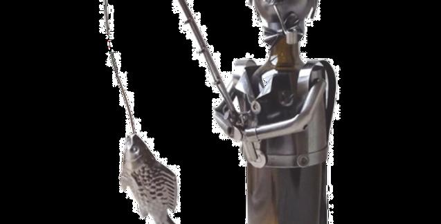 Fisherman Wine Bottle Holder