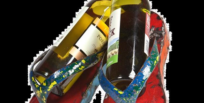 Flip Flop Wine Holder