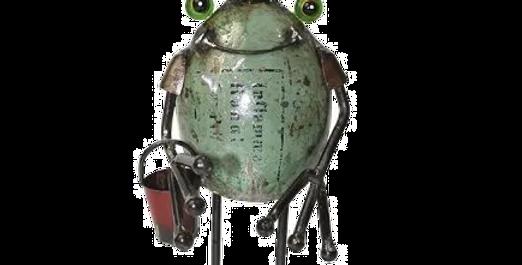 Frog King with Bucket