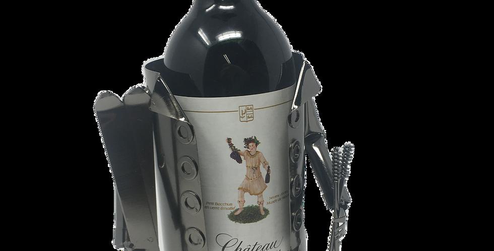 Wine Holder - Skier