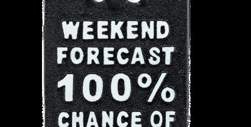Weekend Forecast… Wall Bottle Opener