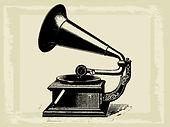 FreeVector-Antique-Gramophone-Graphics.j