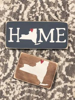 Hometown Proud sign.