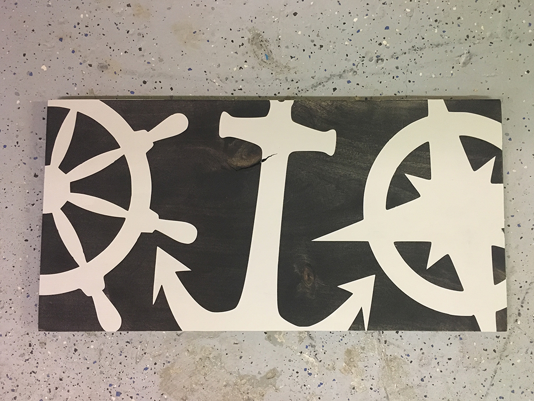 Nautical Wood Sign